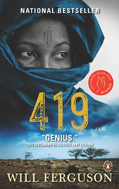 Book cover of 419