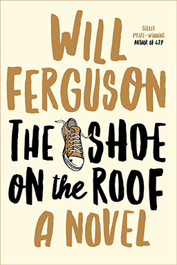 book cover of The Shoe on the Roof