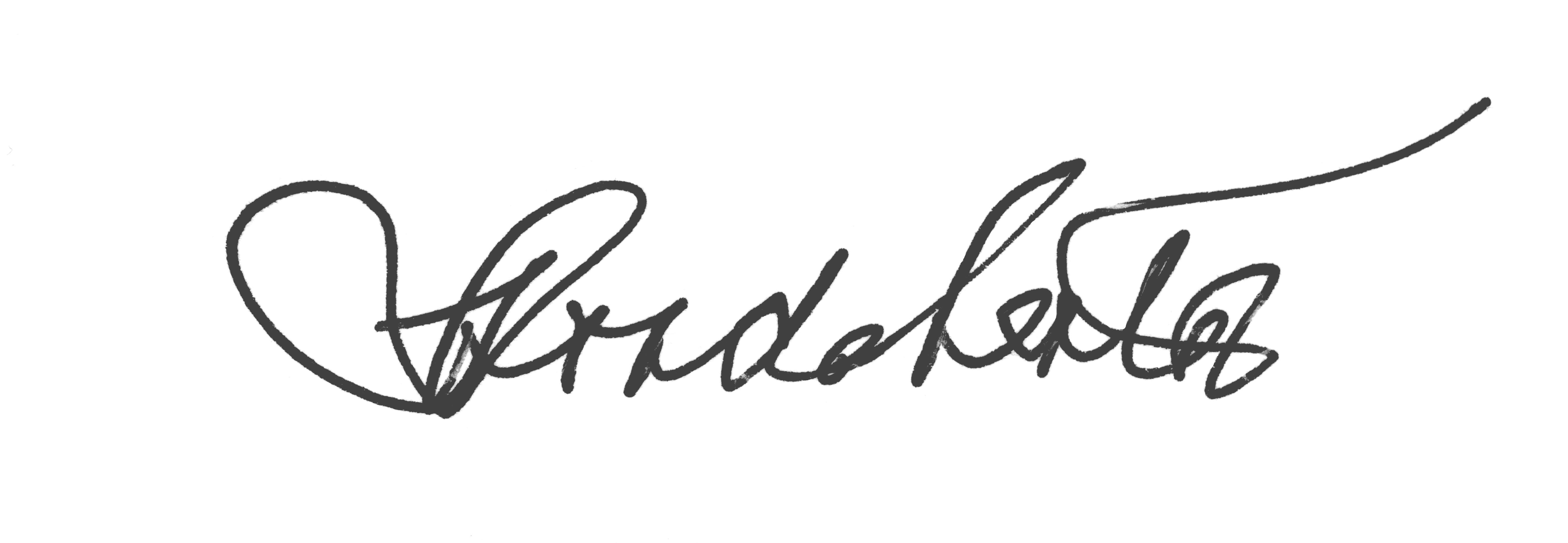 Rhonda Lenton signature
