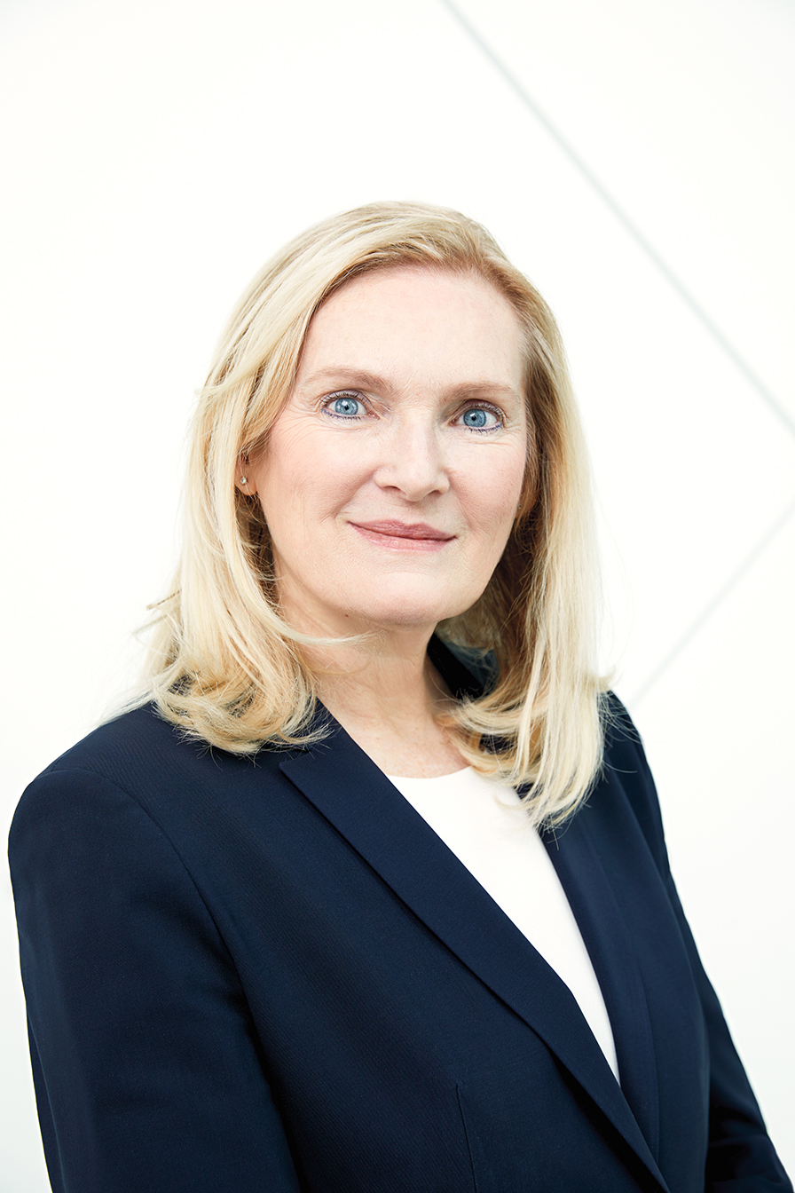 portrait of York University president Rhonda Lenton